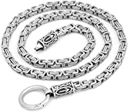 viking chain necklace