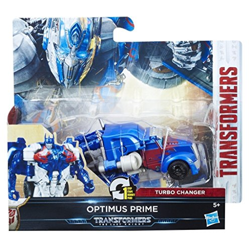 Hasbro Transformers C1312ES0 - Movie 5 Turbo Changer Optimus Prime, Actionfigur