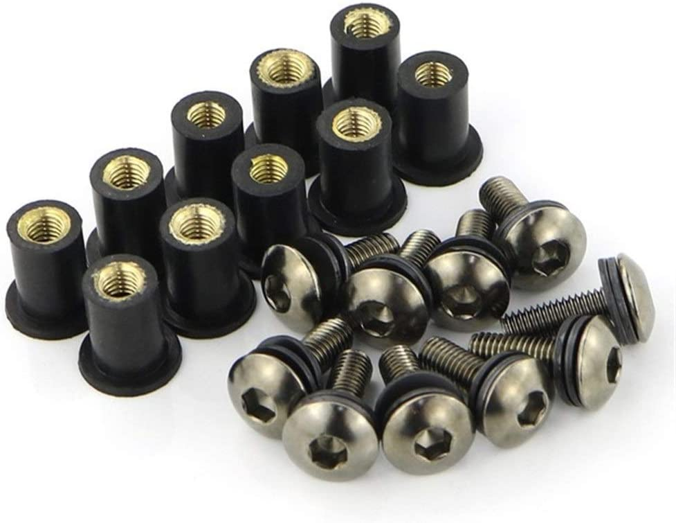 Direct sale of manufacturer AIHONG Motorcycle Windshield Fasteners 10 M516 De 25% OFF Pcs