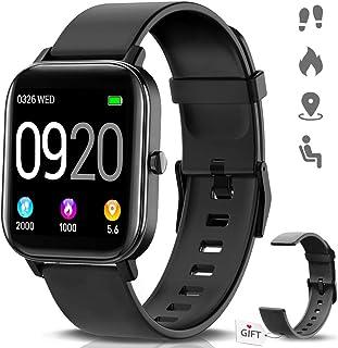 "NAIXUES Smartwatch, Reloj Inteligente Impermeable IP67 Reloj Deportivo 1.4"" Pantalla Táctil Completa con Pulsómetro, Monit..."
