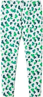 fe90df1cd1766a Mud Kingdom Boys Girls Leggings Traditional Shamrocks St. Patrick's Day