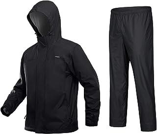 Sponsored Ad - MAGCOMSEN Men`s Rain Suit 2 Peice Set Waterproof Rain Jacket Mesh Lined Lightweight Breathable Windbreaker ...