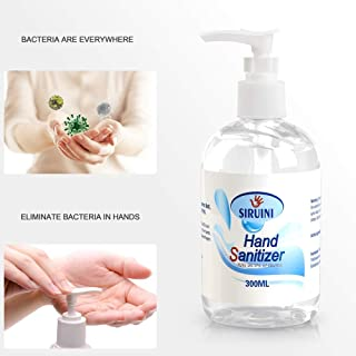 KIW 300ML Advanced Instant Hand Sąni-tizer, Antibąctériąl Gel, Rinse-Free Hand Wash Liquid, Portable Disinféctánt Moisturizing Sánitizér Large Capacity