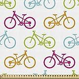 ABAKUHAUS Fahrrad Gewebe als Meterware, Verschiedene