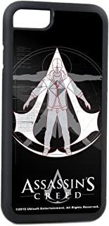 Buckle-Down Cell Phone Case for iPhone 4 - Animus Crest Logo Black/Grays/White/Red - Assassin's Creed