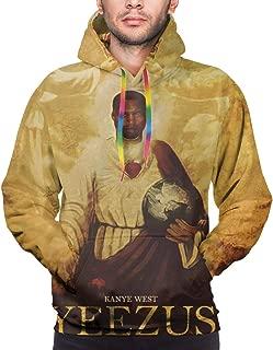 Kanye West Yeezus Men's Athletic Drawstring Sport Gym Sweater Pullover Hoodie