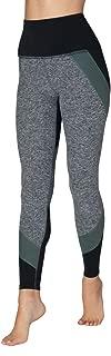Women's Colorblocked High Waisted Long Leggings