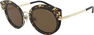 Giorgio Armani AR 6091 BLONDE HAVANA GOLD/BROWN 50/21/140 women Sunglasses