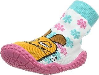 Playshoes Chaussettes Aquatiques avec Protection UV Die Maus Floral, Chaussures de Plage et Piscine Mixte Enfant