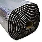 LINGDA 16.15 SqFT 394mil Car Sound Insulation mat,Heat Shield Thermal, Sound Deadener Heat...