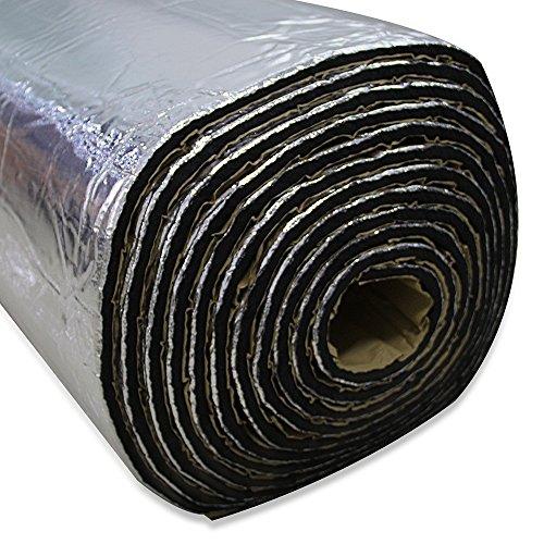 Lingda 10mm Heat Shield Thermal Sound Deadener tappetino auto controllo acustico a prova di isolamento acustico Dampening Moistureproof impermeabile