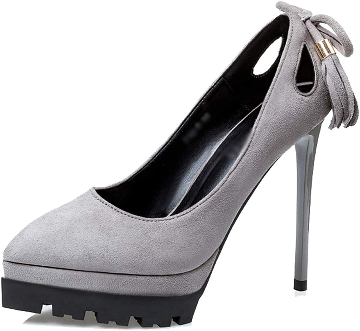Drew Toby Women Pumps Pointed Toe Shallow Fashion Elegant Solid color High Heels