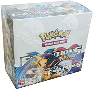 Pokemon Evolutions XY sealed unopened booster box 36 packs of 10 cards IN STOCK Whats Hot Now