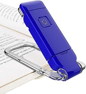 BIGLIGHT Book Light for Reading USB Rechargeable Reading Light 2-Level Brightness Portable Clip on Lights Mini Size 350° S...