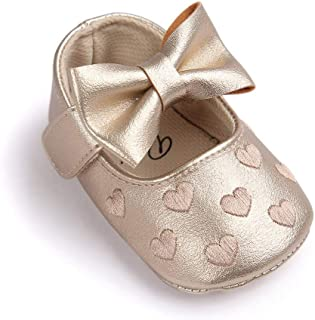 Baby Krabbel Schuhe Strass Glitzer Baby Ballerina Slipper 0-6 Monate Mädchen
