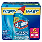 Clorox Toilet Bowl Cleaner with Bleach, 6 Count