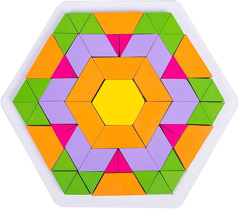 HZPXSB Holz Puzzle Puzzle Bausteine, Grundschüler Unterrichtsausrüstung, Kindergarten Kinder intelligente Spielzeug