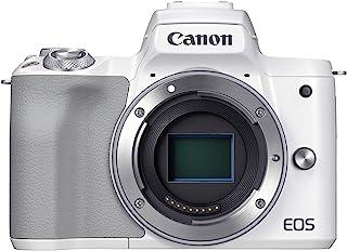 Canon ミラーレス一眼カメラ EOS Kiss M2 ボディー ホワイト KISSM2WH-BODY