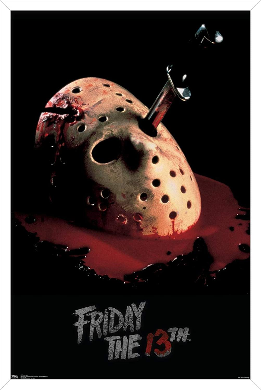 Trends Cheap mail order shopping International Friday The 13th Wall Mask - 22.375