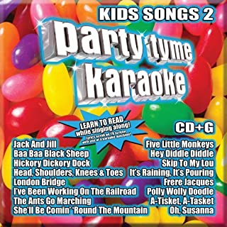 Party Tyme Karaoke - Kids Songs 2 [16-song CD+G]