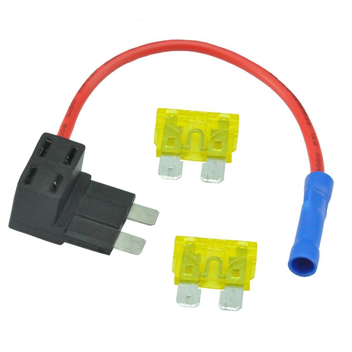 fuse jumper wire box today diagram data schema Homemade Heater Wire mini fuse tap amazon com fuse jumper wire box