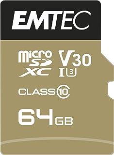 Emetc SPEEDIN' PRO microSD فئة 10 UHS-I U3 (64GB)
