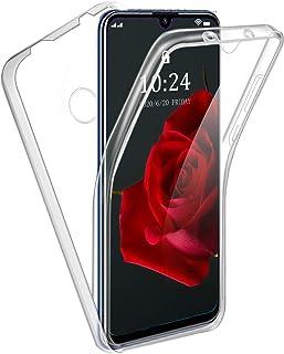 Reshias Funda para Huawei Honor 20E, 360°Full Body Protección Suave TPU Silicona Delantero PC Dura Atrás Transparente Flip...