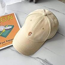 Hoed Vrouwelijke Lente en Zomer Casual Eenvoudige Kleine Letter Borduurwerk Baseball Cap Mannelijke Tide Cap Wilde hoed ad...