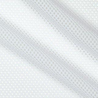 Telio Mod Stretch Mesh White, Fabric by the Yard