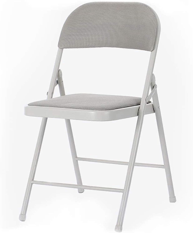 XHLZDY Folding Chair, Office Chair Stool Home Computer Chair Staff Chair Folding Chair (45×46×79cm)