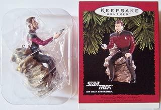 Star Trek The Next Generation  Commander William T. Riker 1996 Hallmark Keepsake Ornament