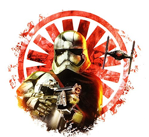 5 Inch Captain Phasma First Order Symbol Logo Storm Trooper Stormtrooper Galactic Empire Star Wars the Force Awakens Removable Wall Decal Sticker Art Home Decor Kids Room-5 Inches Wide By 4 3/4 Inches