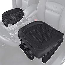 Motor Trend Black Universal Car Seat Cushions, Front Seat...