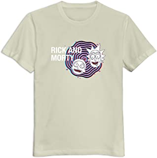 Soulya Men's Rick and Morty T-Shirt Size US Black