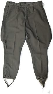 East German Military Breeches - Grey - Authentic European Surplus Military Pants