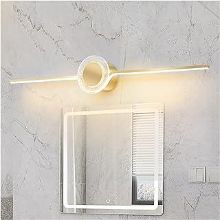 Simple 60/80/100cm Mirror Front Lights, Modern Bathroom Anti-Fog Vanity Bathtub Light Creative Personality Bedroom Dressin...