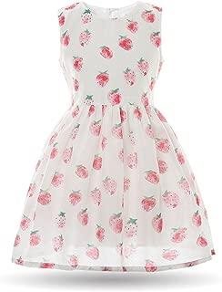Girls Dress Summer Mesh Sleeveless Children Dresses