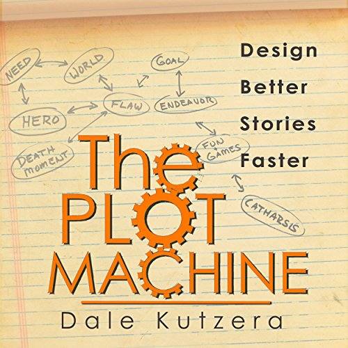 The Plot Machine audiobook cover art