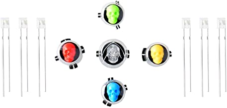 Gam3Gear Project Design ABXY LED Buttons for Xbox One Controller Skull Ghost