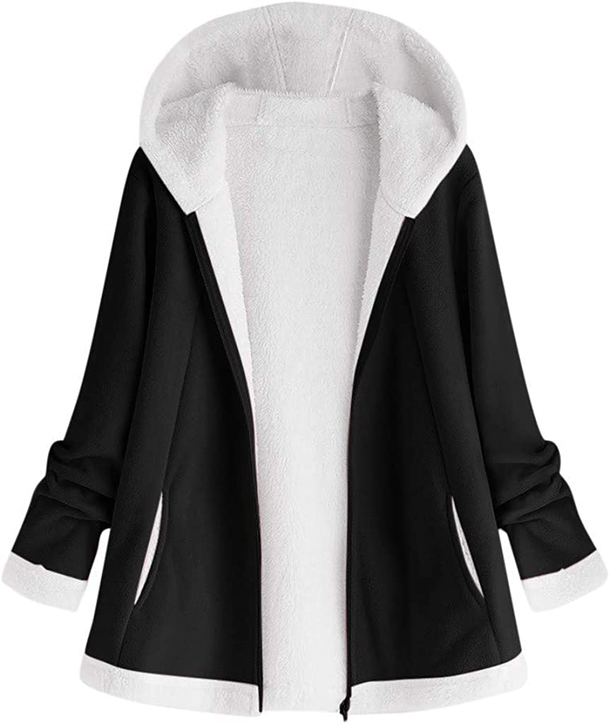 aihihe Women'S Jacket Coat for Winter SALENEW very popular! Ou Plus Faux Fur Size New York Mall
