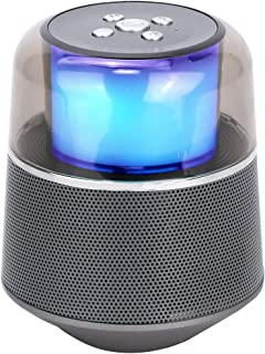 $107 » LKYBOA Small Bluetooth Speakerlight Portable Speakers Bass Stereo Speaker Outdoor Sound Box (Color : Gray)