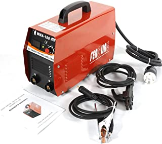 Welder Inverter 20-180A MMA Handheld Electric ARC Welding Welder Machine Tool, Portable ARC Welder Inverter Equipment Tool Kits US Plug AC 110/220V