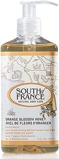 Orange Blossom Honey - South of France Natural Body Care 8oz Hand Wash (3 Bottles)