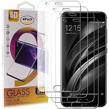 2 Pack] Xiaomi Mi 6 Protector de Pantalla, Electro-Weideworld ...