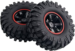 Yosoo 4 x 1:10 RC Buggy Truggy Neumático Rueda de Plástico Llantas de Goma HSP para RC Escalada Racing Car 701A-7006L