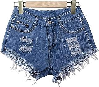 Pantalones Vaqueros De Las De Cintura Mujeres Baja Lavados Rasgados Moda Completi Rasgados Agujero Moda Chicas Jeans Panta...