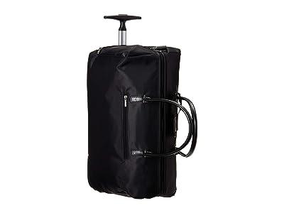 Lipault Paris Lady Plume Wheeled Weekend Bag 2.0 (Black) Bags
