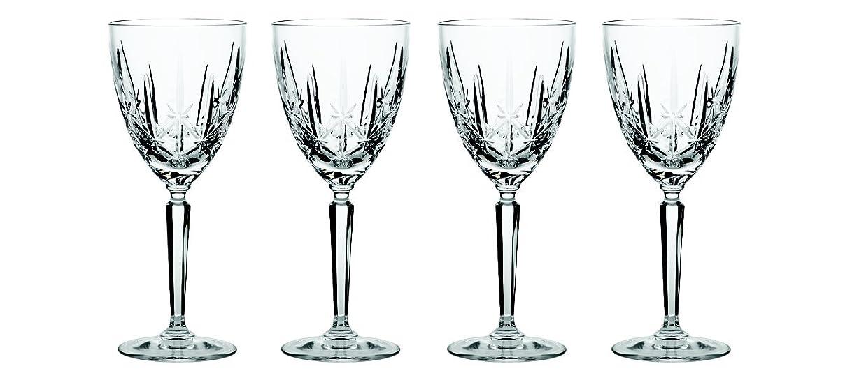 することになっている保守的熟読(Sparkle Goblet) - Marquis by Waterford Sparkle Oversized Goblet, Set of 4