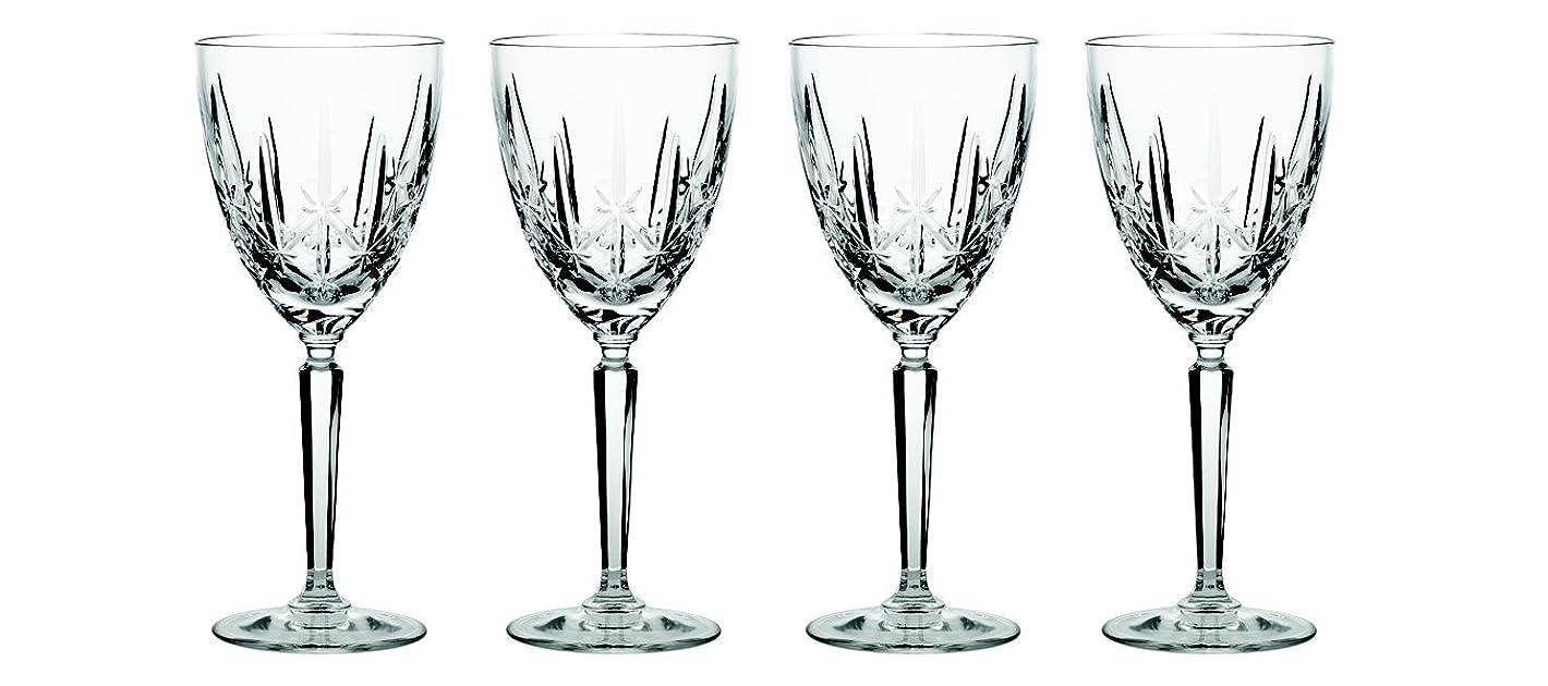 シールドネックレットある(Sparkle Goblet) - Marquis by Waterford Sparkle Oversized Goblet, Set of 4