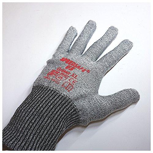 Safeline Handschuh Speedsafe U5, EN 388, grau, Größe XL